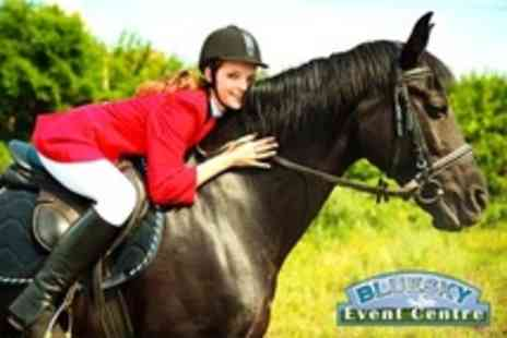 Bluesky Equestrian Event Centre - One Hour Group Horse Riding Lesson - Save 40%