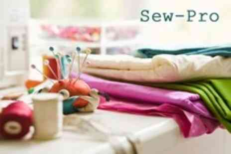 Sew Pro - Choice of Sewing Classes - Save 53%