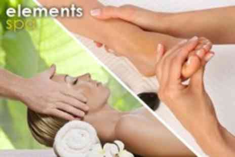 Elements Spa - Reflexology or Indian Head Massage Workshop For One - Save 73%