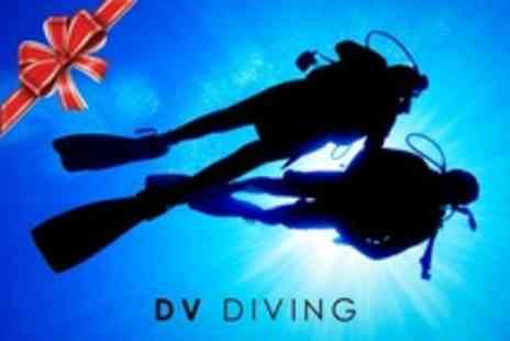 DV Diving - PADI Scuba Diving Open Water Referral Course - Save 66%