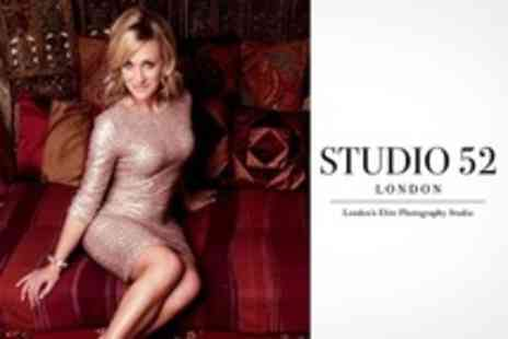 Studio 52 - Fashion Photoshoot For Two With Makeover, Hair Styling - Save 90%