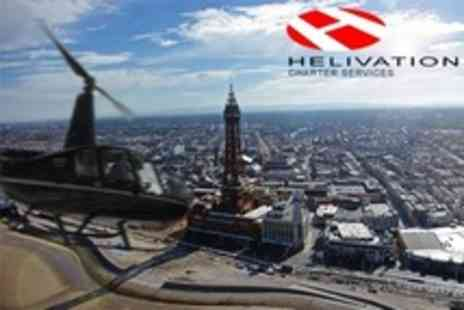 Helivation - Helicopter Flight Over Blackpool For One - Save 21%