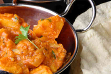 Revivals Indian Restaurant - Two Course Indian Meal for Two - Save 52%
