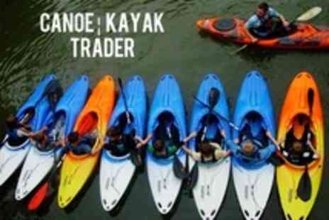 Canoe Kayak Trader - Adult or Child Canoe or Kayak Session - Save 56%