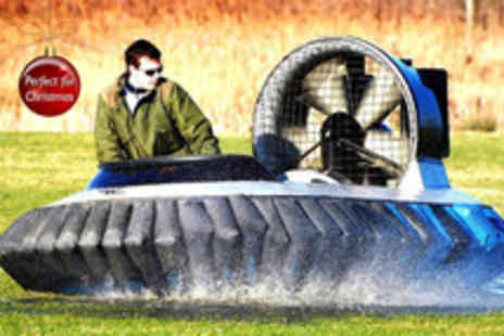 Hovercraft Adventures - Five lap hovercraft experience 10 lap experience with Hovercraft Adventures - Save 27%