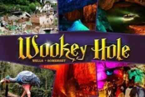 Wookey Hole Caves - Premium Pass For Two with Gift for Each Child - Save 52%