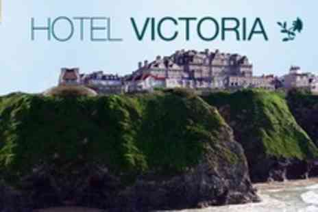 Hotel Victoria - In Newquay Two Night Sea View Stay For Two With Breakfast - Save 60%