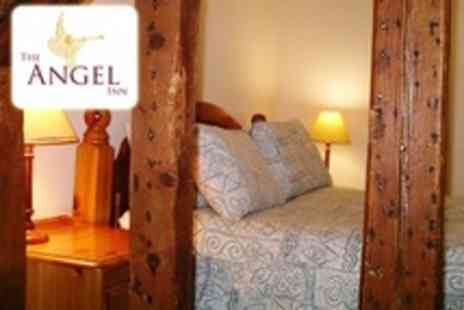 The Angel Inn - In Suffolk Two Night Stay For Two With Breakfast and Bottle of Wine - Save 34%