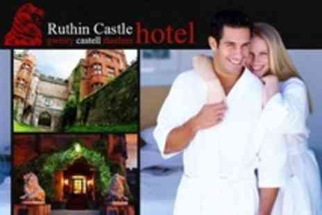 Ruthin Castle Hotel - In Ruthin One Night Stay For Two With Breakfast and Spa Access - Save 19%