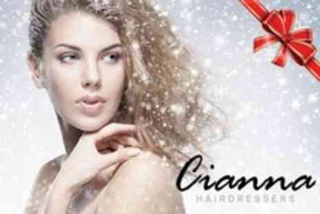 Cianna Hairdressers - Pre Party Pamper Package Choice of Three Beauty Treatments Such as Lash Extensions and Pedicure - Save 71%