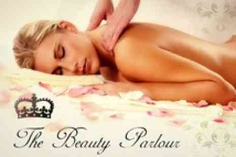 The Beauty Parlour - Massage and Facial - Save 52%