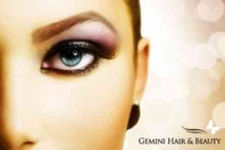 Gemini Retreat - Eyelash Extensions and Tint Plus Eyebrow Wax and Tint - Save 72%