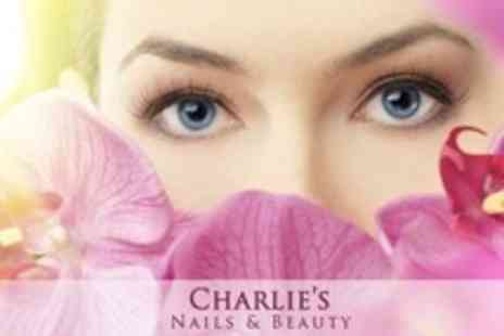 Charlies Nails & Beauty - Eyelash Extensions and Eyebrow Shape - Save 60%