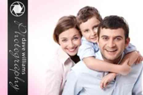 Dave Williams Photography - Family Photoshoot With Ten Prints - Save 93%