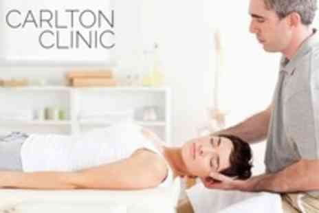 Carlton Clinic -  Consultation and Two Treatments - Save 50%