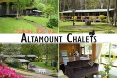 Altamount House Hotel - Three Night Chalet Stay For Two - Save 56%