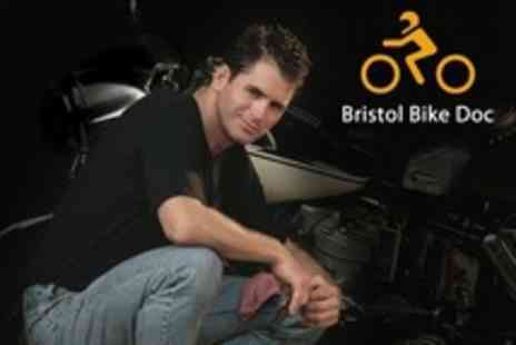 Bristol Bike Doc - Motorbike Winter Check, Anti Corrosion Treatment and Valet  - Save 62%