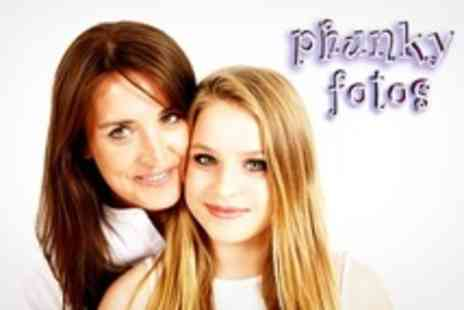 Phunky Fotos - Family or Makeover Photoshoot Plus Manicure - Save 60%