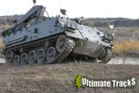 Ultimate Tracks - Off Road Tank and Military Truck Ride For One - Save 50%