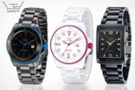 LTD Watches - Ceramic Square Watch Including Delivery - Save 76%