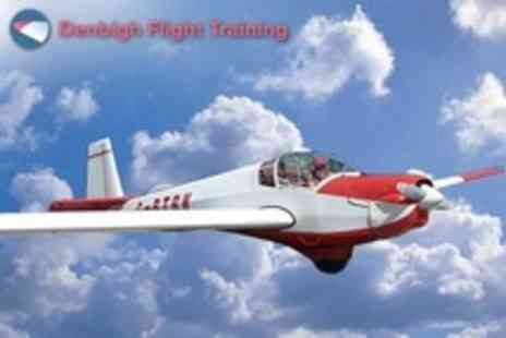 Denbigh Flight Training - One Hour Flying Lesson With Three Month Membership - Save 60%