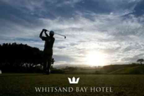 Whitsand Bay Hotel - Round of 18 Golf Holes With Bacon Roll and Coffee For Two - Save 59%