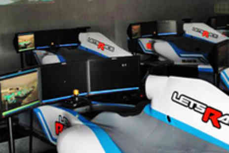 Lets Race - Racing Car Simulator Driving Experience - Save 51%