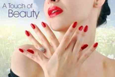 A Touch of Beauty - Classic or Luxury OPI Manicure Plus Optional Luxury Pedicure - Save 53%