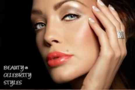 Beauty @ Celebrity Styles - French Manicure and Classic Pedicure - Save 68%