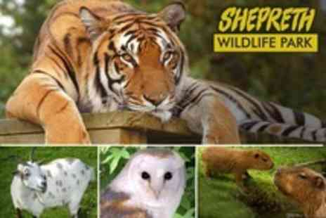 Shepreth Wildlife Park - Admission For Two With Adoption Certificate - Save 50%
