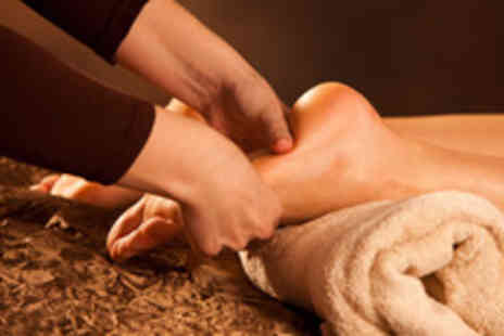 Mystic & Holistic - 90 min advanced reflexology treatment with foot exfoliation and leg massage - Save 73%