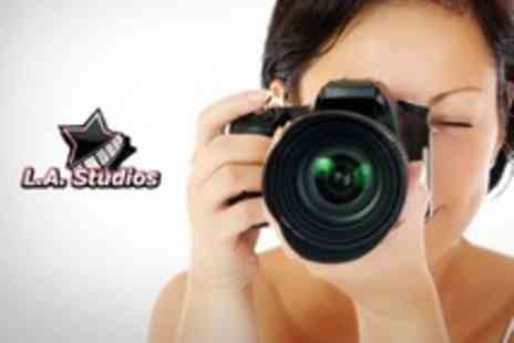 LA Studios - Four Hour Beginners DSLR Photography Course - Save 61%