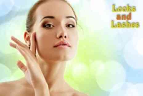 Looks and Lashes - One Microdermabrasion Facial Treatments - Save 46%