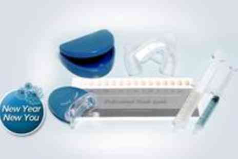 I Want White Teeth - Peroxide-free home teeth whitening kit - Save 84%