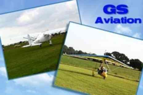 GS Aviation - Microlight Flying Lesson - Save 58%