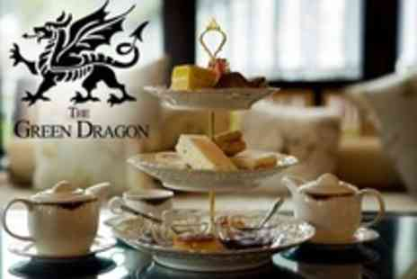 The Green Dragon Hotel - Afternoon Tea For Two - Save 50%