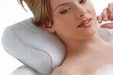 Zuvo - Homedics Myspa Vibrating Bath Pillow - Save 67%