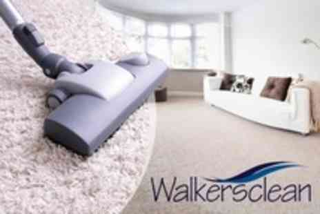 Walkers Clean - Three Rooms Carpet Cleaning - Save 0%
