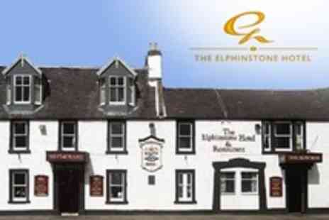 The Elphinstone Hotel - One Night Stay For Two With Meal and Bottle of Wine - Save 57%