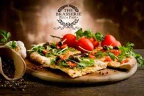 The Brasserie Pizza Pasta - Pizza or Pasta Meal For Two - Save 65%