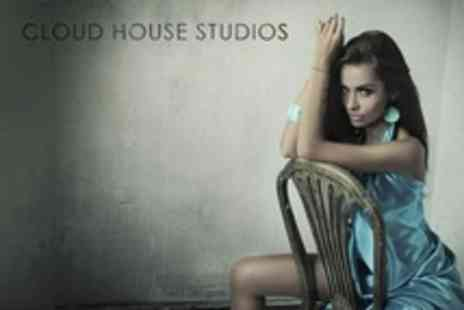Cloud House Studios - Vintage or Makeover Photoshoot For One - Save 88%