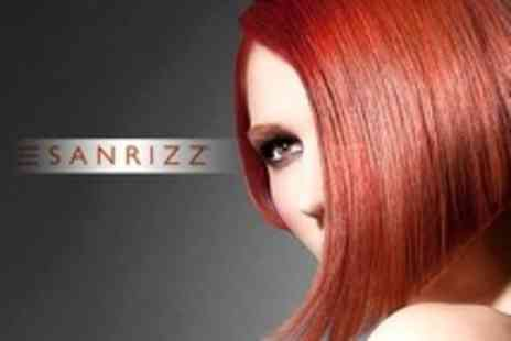 Sanrizz - Cut and Finish With Conditioning Treatment - Save 65%