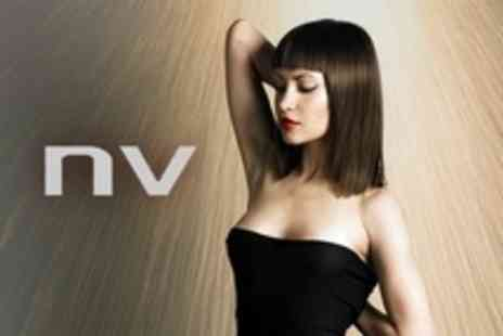 NV Hair and Beauty Salon - Cut, Blow Dry and Conditioning Treatment Plus Head Massage - Save 64%