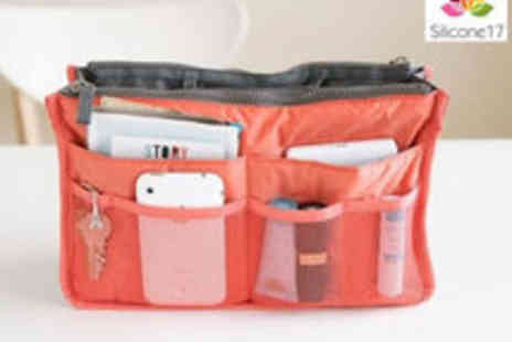 Silicone 17 - Handbag Organiser Available in 6 Colours - Save 58%