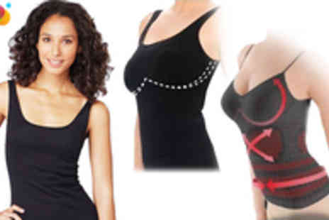 Fizzy Peach - Germanium Slimming Vest - Save 80%