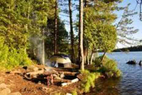 Go Country - One night camping and canoeing adventure for two - Save 51%