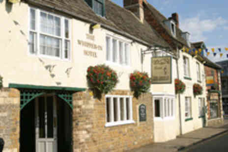 Brook Whipper In Hotel - One night stay for 2 inc. bottle of wine - Save 40%