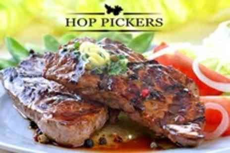 Hop Pickers - Two Course Pub Meal For Two - Save 54%