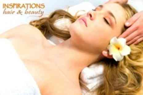 Inspirations Hair Design - Indian Head Massage or Express Cleanse Facial - Save 52%