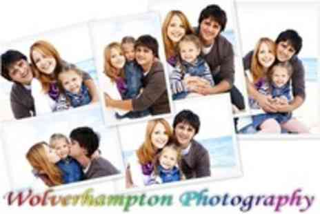 Wolverhampton Photography - Baby, Family or Boudoir Photoshoot - Save 60%